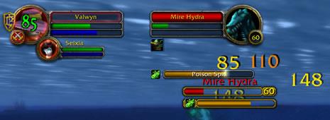 World of Warcraft es un MUD gráfico y hace evidente el núcleo numérico detrás de los juegos de rol. Clic en la imagen para verla en tamaño completo (474.59 KB).