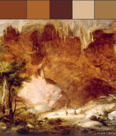An example color palette